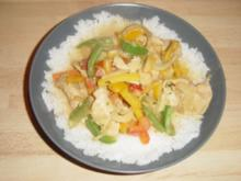 Asiatische Currypfanne - Rezept