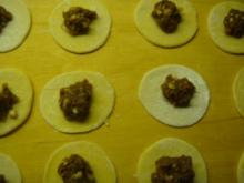 Nudelgerichte: Tortellini mit Hackfleisch-Füllung - Rezept