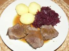 Mamas Sauerbratenrezept - Rezept
