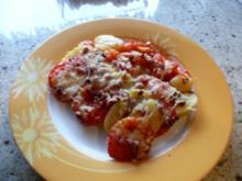 Kartoffel -Tomaten-Gratin - Rezept