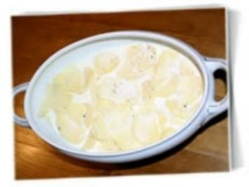 Fettarmes Kartoffelgratin - Rezept