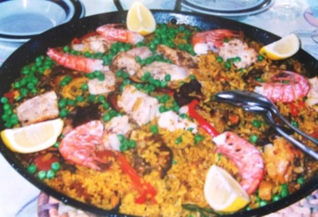 Paella a la Margarita - original spanisch - Rezept - Bild Nr. 3