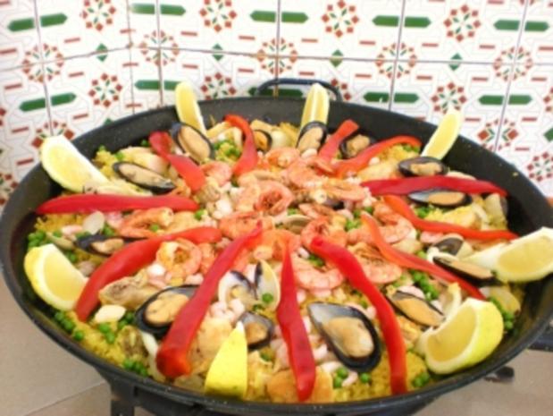 Paella a la Margarita - original spanisch - Rezept