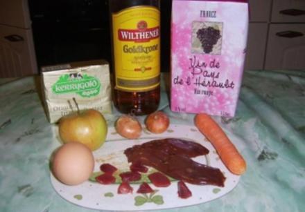 Geflügelleber-Parfait mit Karotte und Zwiebel - Rezept