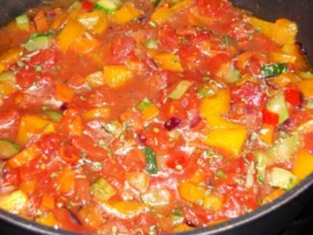 Forny´s Gemüsepfanne - Rezept