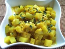 Kohlrabigemüse, Kaschmir-Art - indisch - Rezept