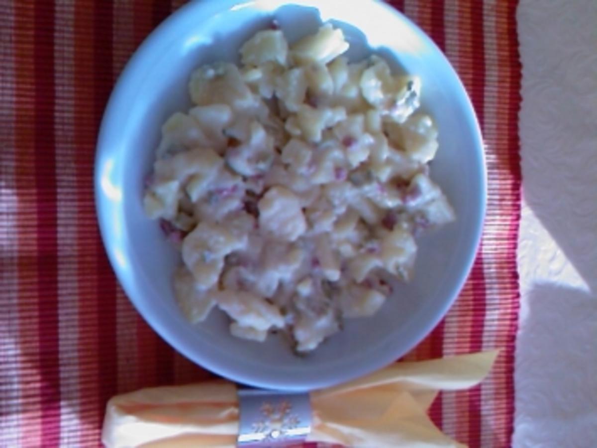 Warmer Kartoffelsalat Holsteiner Art - Rezept Gesendet von wanda0201