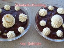 Dessert: Schokello-Pudding - Rezept