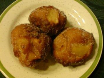 Apfel-Krapfen - Rezept