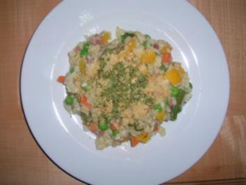 würziges Gemüserisotto - Rezept