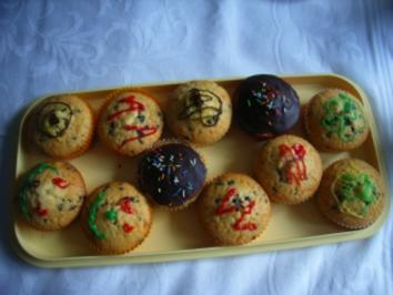 Muffins: Schoko-Split-Muffins - Rezept