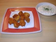 Champignons gebacken - Rezept