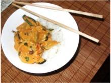 Garnelen-Gurken-Curry - Rezept