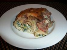 Cannelloni mit Spinat-Ricottacreme und Lachswürfeln - Rezept