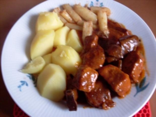 Hauptgericht~Schaschlikpfanne - Rezept