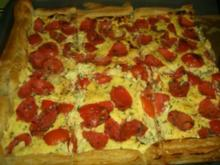 Tomatenkuchen - Rezept
