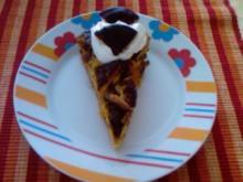 Orangen-Schokoladen-Krümelkuchen - Rezept