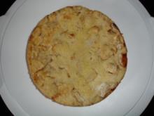 Apfelkuchen mit Rührteig und Streuseln - Rezept