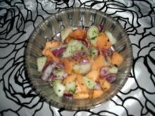 Sommer-Melonensalat - Rezept