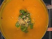 Asiatische Kürbissuppe - Rezept
