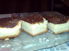 Quarkkuchen mit Schokoladenguss - Rezept
