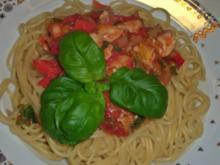 Mahi-Mahi Spagetti - Rezept