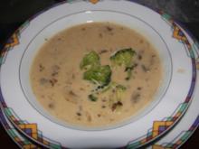 Broccoli-Champignon-Suppe - Rezept