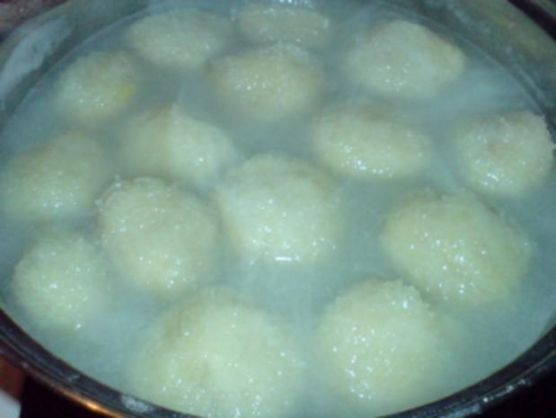 Kartoffelklöße nach Thüringer Art - Rezept