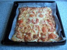 Philadelphia Basilikum-Tomaten-Pizza - Rezept