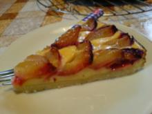 Pflaumenkuchen mit Quark - Rezept
