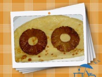 Rezept: Ananaspfannkuchen