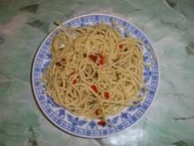 Spaghetti aglio e olio - Rezept