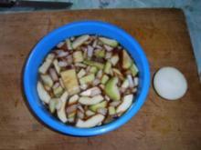 Zucchini-Bratkartoffeln mit Hackfleisch - Rezept