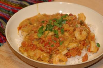 Goan Shrimp Curry - Rezept