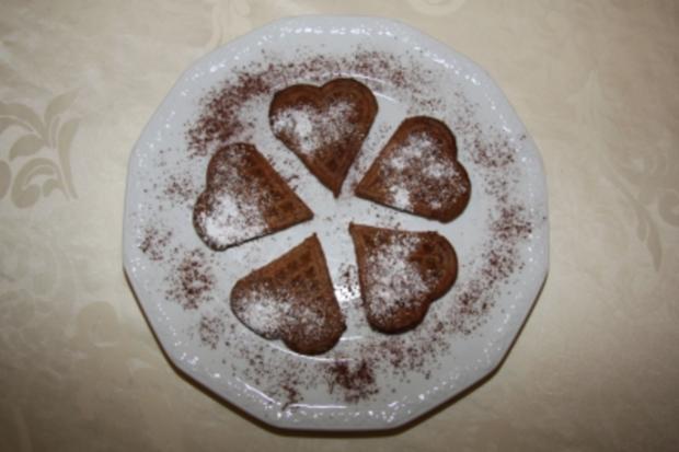 Mokka-Schoko-Waffeln - Rezept