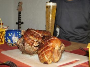 Bier-Krustenbraten - Rezept