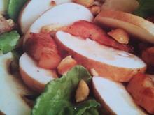 Pilzsalat mit Lollo Rosso und Haselnüssen - Rezept - Bild Nr. 3808