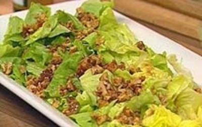 Einfacher Blattsalat - Rezept