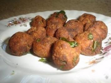 Fleischbällchen am Spieß (Gola Kebab) indisch - Rezept
