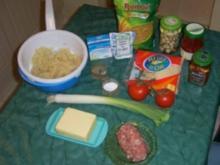 Mediteraner Auflauf trifft Sauerkraut - Rezept
