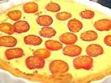 Blätterteig-Ricotta-Käsekuchen mit Tomaten und Basilikum - Rezept - Bild Nr. 9