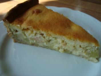 *danes Spezial - Rhabarber Kuchen von meiner Mutti (Oma) - Rezept