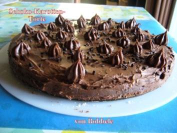 Torten: Schoko-Karotten-Torte - Rezept