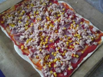 Ruck Zuck Pizza - Rezept