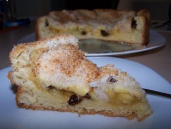 Apfelkuchen mit Kokos-Streusel - Rezept