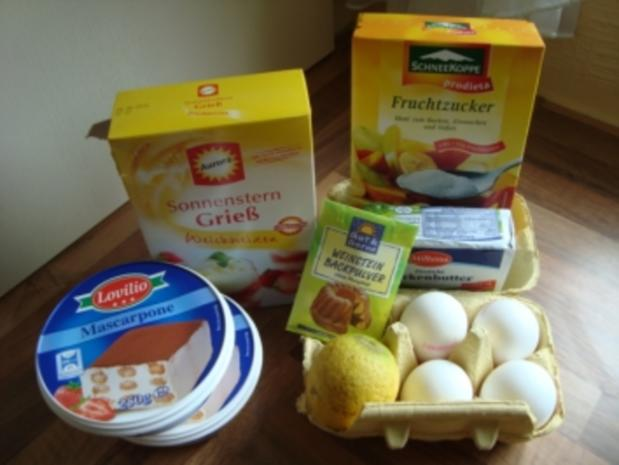 *Kuchen - Mascarpone-Ecken - Rezept - Bild Nr. 3