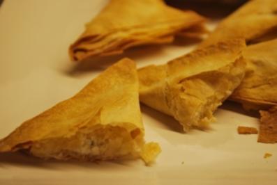 """Ziegige"" Käse-Kräuter-Ecken - Rezept"