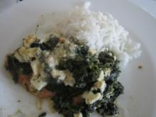 Spinat-Feta-Hühnchen - Rezept