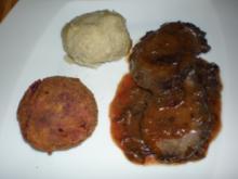 Sauerbraten vom Hirsch - Rezept