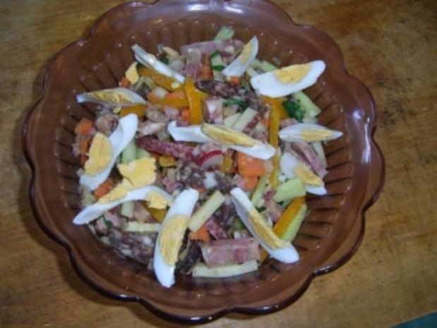 Thüringer Wurstsalat der Echte! - Rezept